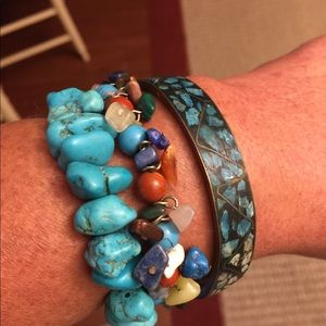 Jewelry - Turquoise Bracelets - Set of 3